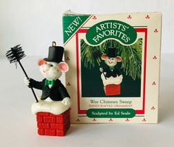 Hallmark Artist's Favorites Christmas Ornament Ed Seale Wee Chimney Sweep 1987 - $6.89