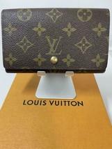 Louis Vuitton Monogram Porte Monevier Tresor Wallet - japan - $222.75