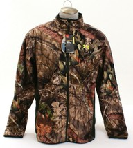Under Armour Storm UA Stealth Fleece Mossy Oak Zip Front Hunting Jacket ... - $149.99