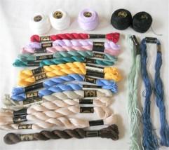DMC #5 Perle Cotton 21+ Skeins & Balls Plus Mixed Colors - $31.97