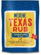 Mexene Texas Rub Signature Blend, 4 Ounce Bag - $10.84