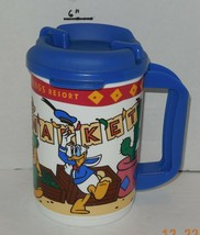 Vintage Walt Disney World Coronado Springs Souvenir Mug Cup Plastic - $23.38