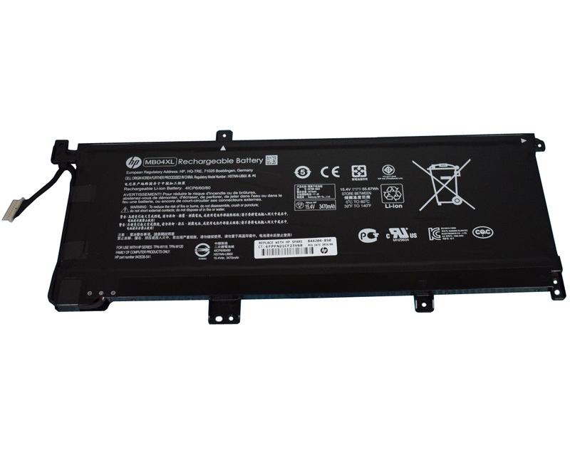 Primary image for HP Envy X360 15-AQ002UR E9K44EA Battery 844204-855 MB04XL 844204-850 HSTNN-UB6X