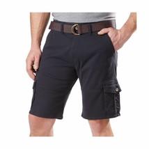 NEW Weatherproof Vintage Mens Comfort Stretch Utility Cargo Shorts & Adjust Belt image 1
