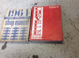 1964 GM Chevrolet Chevelle Shop Service Repair Manual OEM Set W Supplement - $34.60