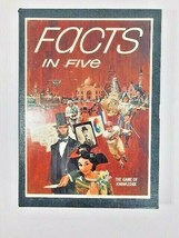 Vintage Facts in Five Board Game of Knowledge 1967 3M Company Bookshelf Design - $44.55