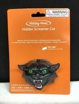 New Hidden Screamer Black Cat Noise Maker Scream Halloween Prank Light A... - $16.15