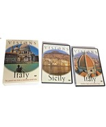 As Seen on Public Television Visions of Italy 2 DVD Widescreen Boxed Set - $44.99