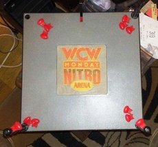 WCW monday nitro Wrestling Ring from ToyBiz - $13.00