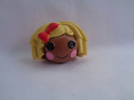 Lalaloopsy Mini Blonde Hair Dot Starlight Doll Head Pencil Topper - $1.14