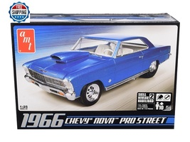 Skill 2 Model Kit 1966 Chevrolet Nova Pro Street 1/25 Scale Model by AMT - $49.99