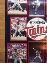 "1987 Minnesota Twins World Series Champs Poster 22"" x 34"" image 5"