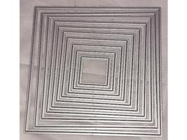 Square Dies-Set of 10 for Card Making-Scrapbooking and More