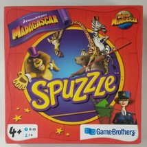 Spuzzle Madagascar Board Game 2012 Game Brotherz - $28.97