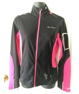 Pearl Izumi Elite Black And Pink Zip Up Cycling Jacket Xsmall XS - $99.99