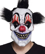 2pcs/set Scary Clown Mask Halloween Party Costume Decorations Creepy Lat... - £14.36 GBP+