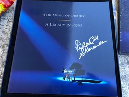 THE MUSIC OF DISNEY ANLEGACY OF SONG CASSETTE BOX SET RICHARD SHERMAN SI... - $166.25
