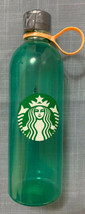 Starbucks Green Water Bottle Plastic 24 Oz - NEW Limited Edition - $9.90