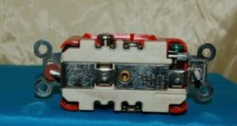 Hubbell HBL8300R Red Receptacle Straight Blade 20 Amp Duplex Hospital Grade image 3