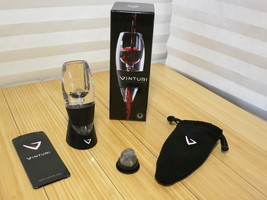 Vinturi Red Wine Aerator Set includes Storage Bag + Sediment Filter + St... - $8.49