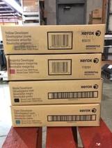 Set of Genuine Xerox 800/1000 Developer 005R00742/005R00743/005R00744/00... - $120.62