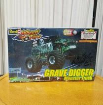2001 Revell Grave Digger Monster Truck Model Autographed by Charlie Pauken 2003 - $89.37