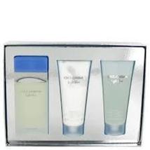 Dolce & Gabbana Light Blue Perfume Spray 3 Pcs Gift Set   image 6