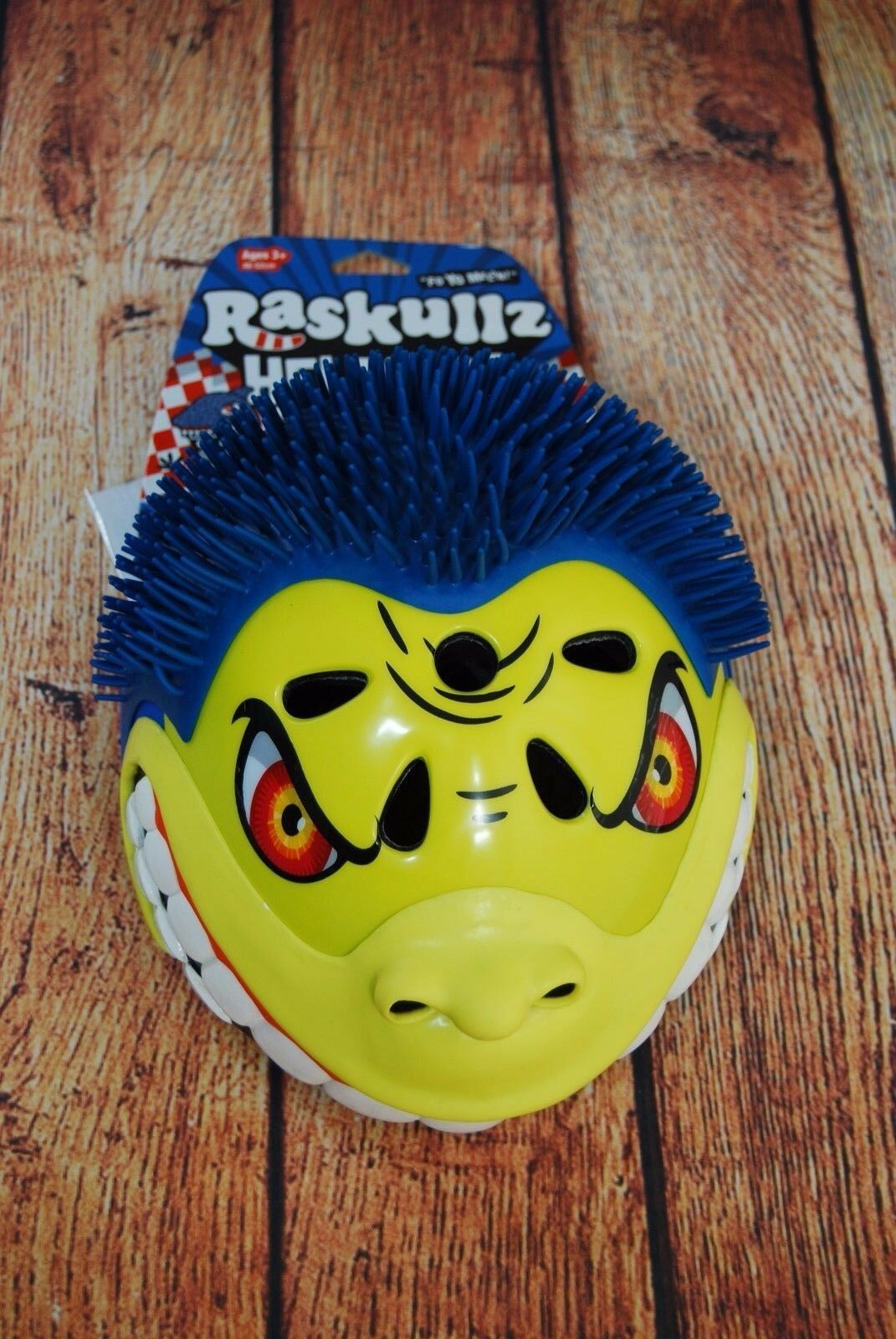 Primary image for NWT! Raskullz Helmet Gorilla Blue Ages 3+ 48-52 Cm