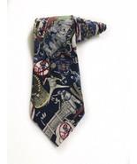 Nicole Miller 1996 New York Yankees World Champions Vintage Silk Tie Nec... - $19.79