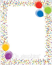 """Poster Board Let's Party Design, 22""""x28"""", 10/Case - £9.79 GBP"""