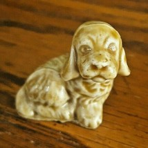 WADE WHIMSIES Cocker Spaniel DOG Puppy Red Rose Tea Porcelain Figurine E... - $9.89