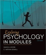 Exploring Psychology In Modules 10th Edition (I... - $5.99