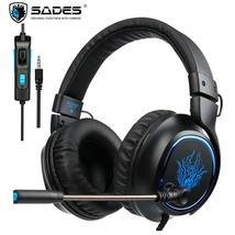 SADES R5 Headband Headset Gamer Casque PC Gaming Headphones Stereo Earph... - $57.22+