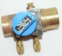 Watts Bronze Balancing Ball Valve Design Position Indicator Memory Stop 0856739 image 2