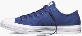 Converse All Star Chuck II Blue Canvas 150152C Shoes Men - $59.95