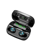 tws wireless bluetooth earphone led digital diaplay noise handsfree earb... - $59.99