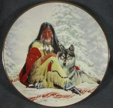 Snow Princess David Wright Princesses Of The Plains Collector Plate - $17.95
