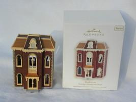"2007 Hallmark Nostalgic Houses & Shops ""Bookstore"" Christmas Ornament - $14.99"