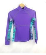 Atheta compression shirt  purple stretch size xs athletic - $14.22