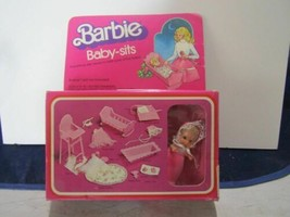 1976 MATTEL BARBIE BABYSITS FACTORY SEALED MNRFB-# 7882 !! - $82.12
