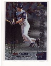 1999 Topps Finest #121 Troy Glaus Anaheim Angels Collectible Baseball Card - $0.99