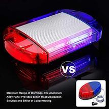 126 LED Strobe-Warning-Lights-Bar 12V Rotation Flashing Beacon Emergency Light M image 3