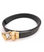 MICHAEL KORS Women's Twist Reversible MK Logo Belt Signature Canvas Brow... - $39.96