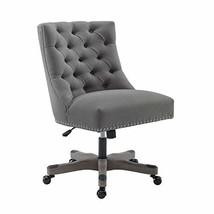Linon Home Décor Honor Light Gray Office Chair, Grey - $356.03