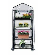 "R687 4-Tier Mini Greenhouse, 27"" Long x 18"" Wide x 63"" High - $103.28"