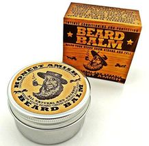 Honest Amish Natural & Organic Beard Balm Leave In Conditioner Vegan Friendly image 6