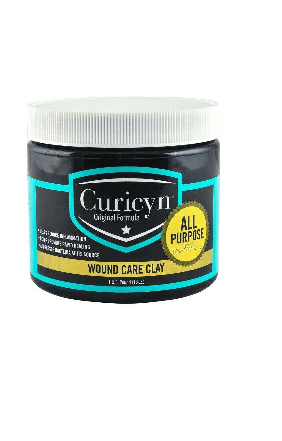 Curicyn Wound Care Ton Heilung Entzündungen Disease für Nutztiere 16oz