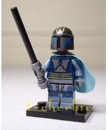 PRE VISZLA Star Wars Minifigure +Stand The Clone Wars Rebels Mandalorian... - $13.00