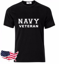 Navy T Shirt VETERAN USAF Air Force US Army Marines USMC Military PT GD - $7.95+