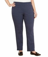 Charter Club Cambridge Pull-On Pants (Blue, 14W ) - $40.79